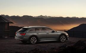 Picture Audi, the evening, Quattro, universal, 2019, A6 Allroad