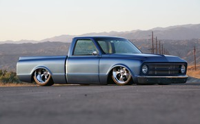 Picture Chevy, Truck, Custom, Low, C10