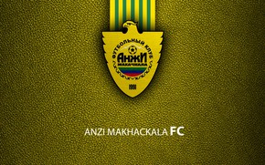 Picture wallpaper, sport, logo, football, Russian Premier League, Anzhi Makhachkala