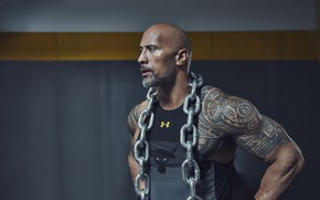 Picture The Rock, Dwayne Johnson, Dwayne Johnson (The Rock), actor, chain