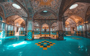 Picture Iran, Bath Of The Sultan Amir Ahmad, Kashan