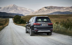 Picture BMW, primer, 2018, crossover, SUV, 2019, BMW X7, X7, G07
