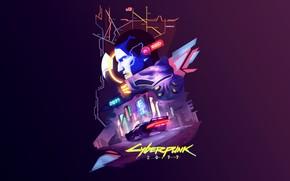 Picture Art, fanart, Illustration, Cyberpunk 2077, Cyberpunk, Game Art, 2077, Syed Ali Qaiser, by Syed Ali …