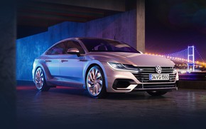 Picture rendering, Auto, Volkswagen, Machine, Silver, R-Line, Transport & Vehicles, Volkswagen Arteon, Full CGI, by the …
