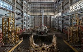 Picture space, Shuttle, Buran, scrap