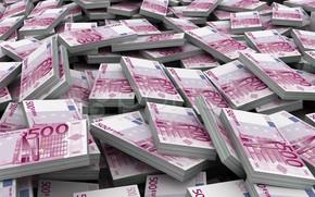 Picture money, Euro, 500