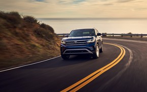 Picture markup, Volkswagen, SUV, Atlas, 2020, 2021