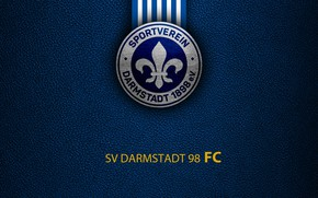 Picture wallpaper, sport, logo, football, Bundesliga, SV Darmstadt 98