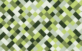 Picture color, line, green, graphics, vector, squares, geometry