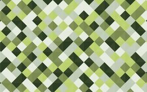 Picture color, line, green, vector, squares, geometry, Rafiq