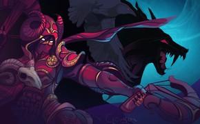 Picture Blizzard, Art, Diablo 3, Diablo, Valla, Demon Hunters, Nephalem, Vengeance Incarnate, Westmarch, Iulia Crimson, by …
