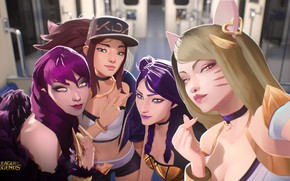 Picture Art, Girls, League Of Legends