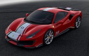 Picture asphalt, background, Ferrari, 2019, 488 The Track The Ferrari Drivers
