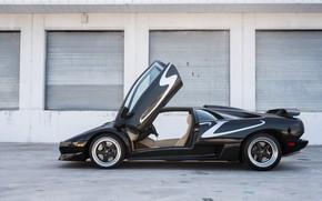 Picture Super Veloce, Italian Cars, Scissor doors, 1998 Lamborghini Diablo SV