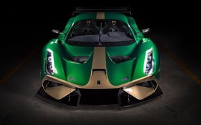 Picture supercar, front view, 2019, Brabham, BT62