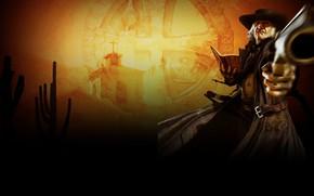 Picture wallpaper, Call Of Juarez, The Preacher