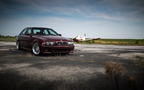 Picture BMW, Cherry, Classic, Legend, E39, Sight