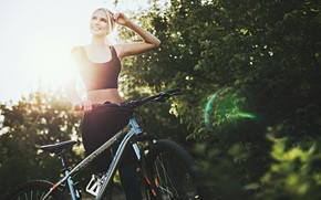 Picture bike, Girl, Anton Kharisov