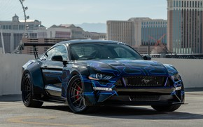 Picture Mustang, Ford, 2018, Galpin Auto Sports, Widebody, SEMA 2018, Road Racing