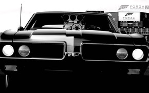 Picture HDR, Muscle, Drift, Car, Front, Game, 442, Oldsmobile, Muscle Car, Hurst, Oldsmobile 442, FM7, UHD, …