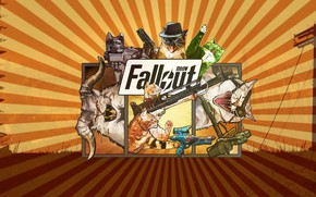Picture Cats, Fallout, Art, Cats, Meow, Meow Fallout