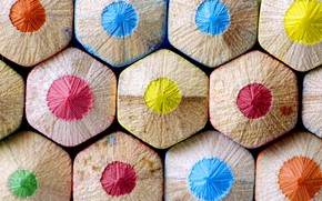 Picture color, pencils, form