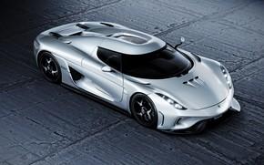 Picture rendering, Koenigsegg, CGI, Regera