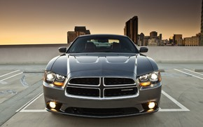 Picture Dodge, Front, Charger, Vehicle