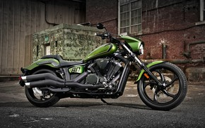 Picture Yamaha, Bike, Motorcycle, Stryker Bullet