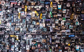 Picture background, wall, camera