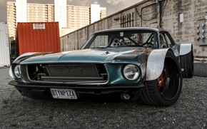 Picture Ford Mustang, Hot Rod, Custom, Corvette C5