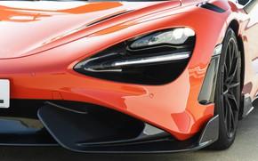 Picture McLaren, headlight, the hood, 2020, 765LT