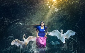 Picture girl, smile, beautiful, model, pose, indian, photoshoot
