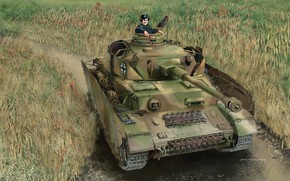 Picture Germany, Tank, Pz. IV, Armor