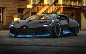 Picture rendering, Bugatti, supercar, 2018, hypercar, Rostislav Prokop, by Rostislav Prokop, Divo