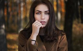 Picture look, Ilya Baranov, coat, Girl, Julia Yaropolova