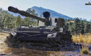 Picture tank, World of Tanks, SU-130ПМ