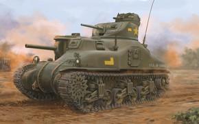 Picture USA, Medium tank, M3 Lee, Armor