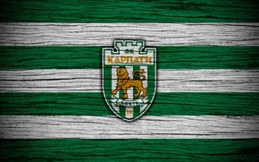 Picture wallpaper, sport, logo, football, Karpaty Lviv, Ukrainian Premier League
