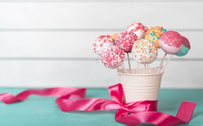 Picture candy, tape, Colorful, bucket, Cake, Lollipop