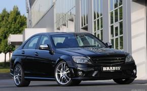 Picture Brabus, sedan, С63 AMG, 3rd generation, Mercedes-Benz W204