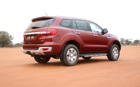 Picture Ford, Everest, 4WD, the five-door, 2015, Titanium