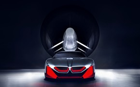 Picture background, coupe, BMW, front view, 2019, Vision M NEXT Concept