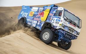 Picture Sand, Auto, Sport, Machine, Speed, Truck, Race, Russia, Race, Russia, Speed, Kamaz, Rally, KAMAZ-master, Rally, …