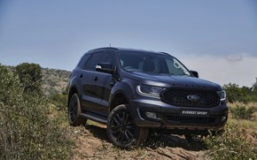 Picture Ford, Sport, Everest, 4WD, midsize, 2021