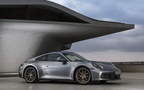 Picture roof, coupe, 911, Porsche, Carrera 4S, 992, 2019