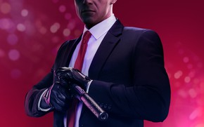 Picture Agent 47, IO Interactive, Warner Bros. Interactive Entertainment, Hitman 2