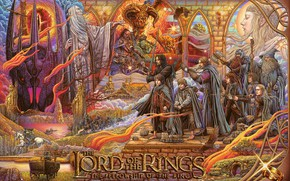 Picture Figure, The Lord of the rings, Movie, The Lord Of The Rings, Balrog, Art, Art, …