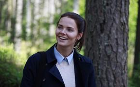 Picture pose, smile, makeup, actress, hair, makeup, Elizaveta Boyarskaya, Elizaveta Boyarskaya