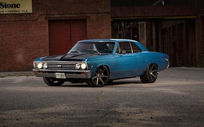 Picture Chevrolet, Chevy, Chevelle, Muscle car, Vehicle, Big Block
